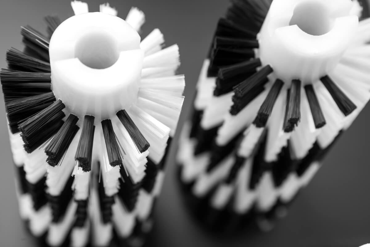 Walzenbürste gestanzt industriell und technisch - KOTI