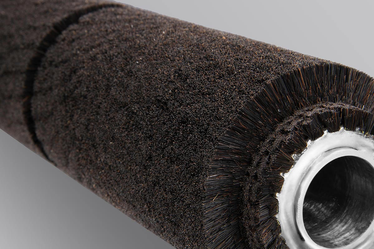 Spiral roller brush double banded industrial and technical - KOTI