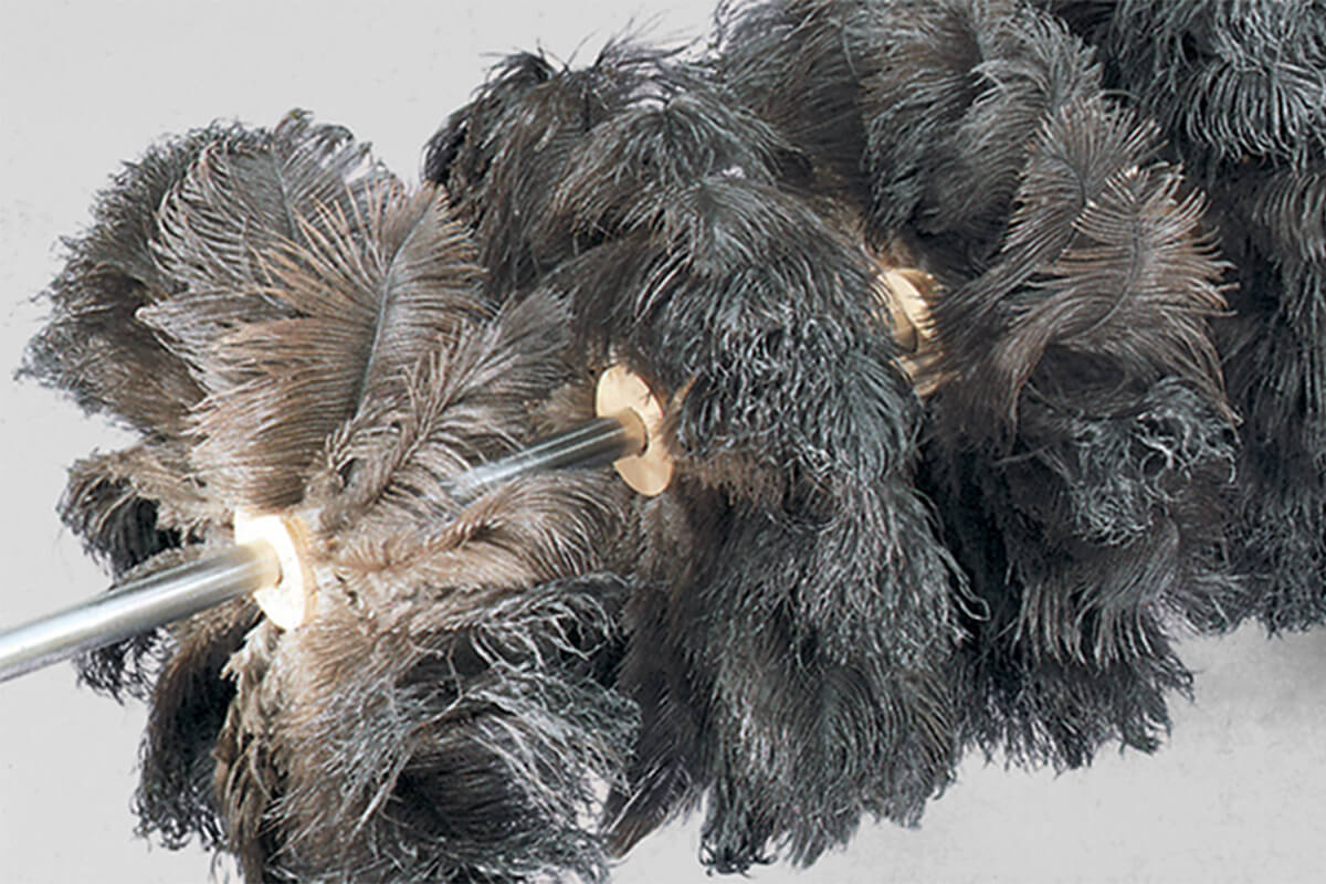 Ostrich-feather brushes - KOTI