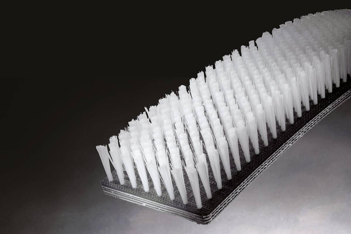 Brush belt flat industrial and technical - KOTI