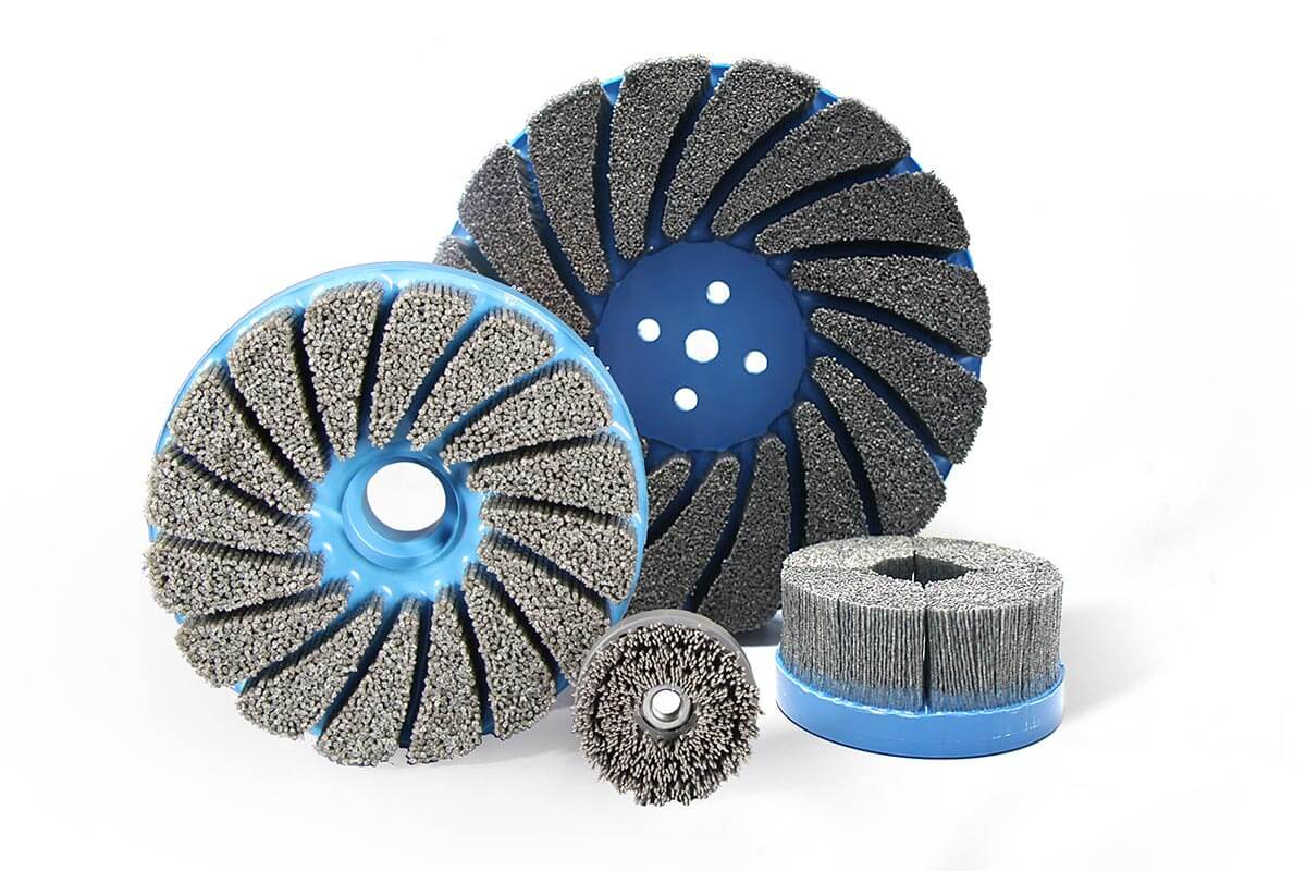 Brush disc mouldedindustrial and technical - KOTI