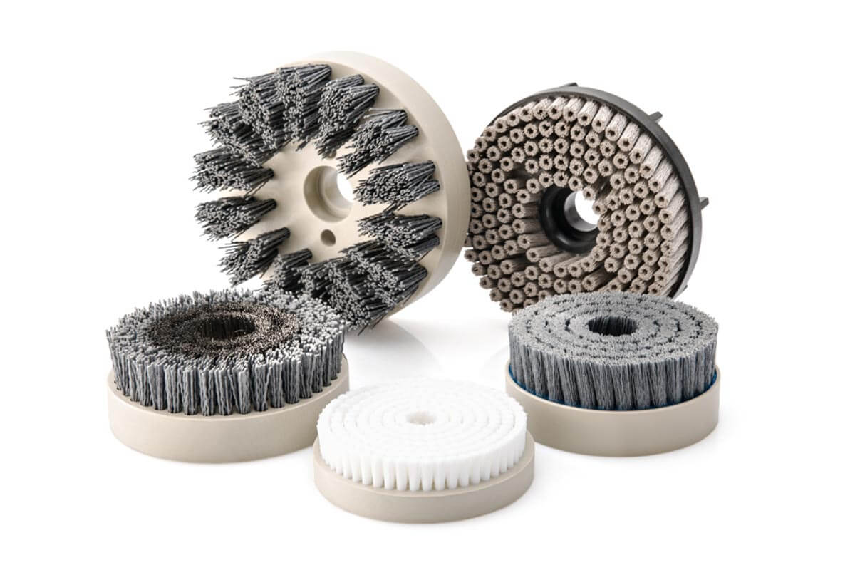 Brush disc tufted industrial and technical - KOTI