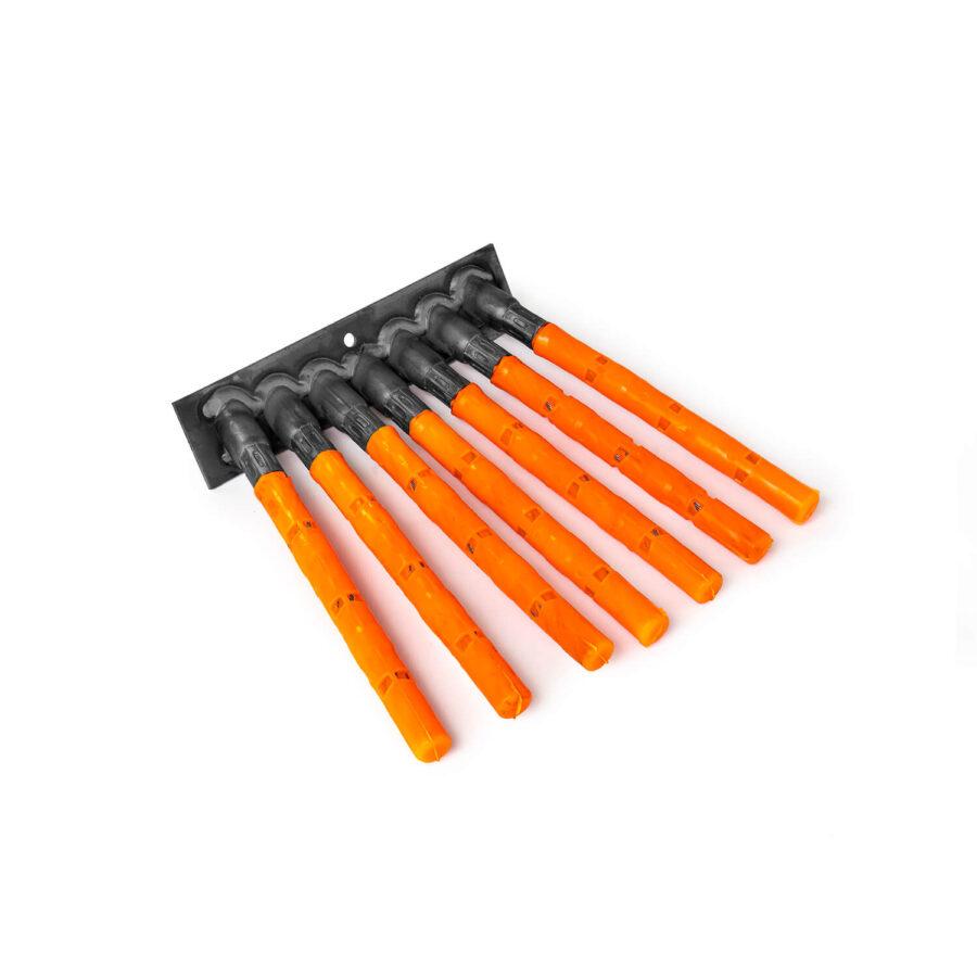 Weed brush segments