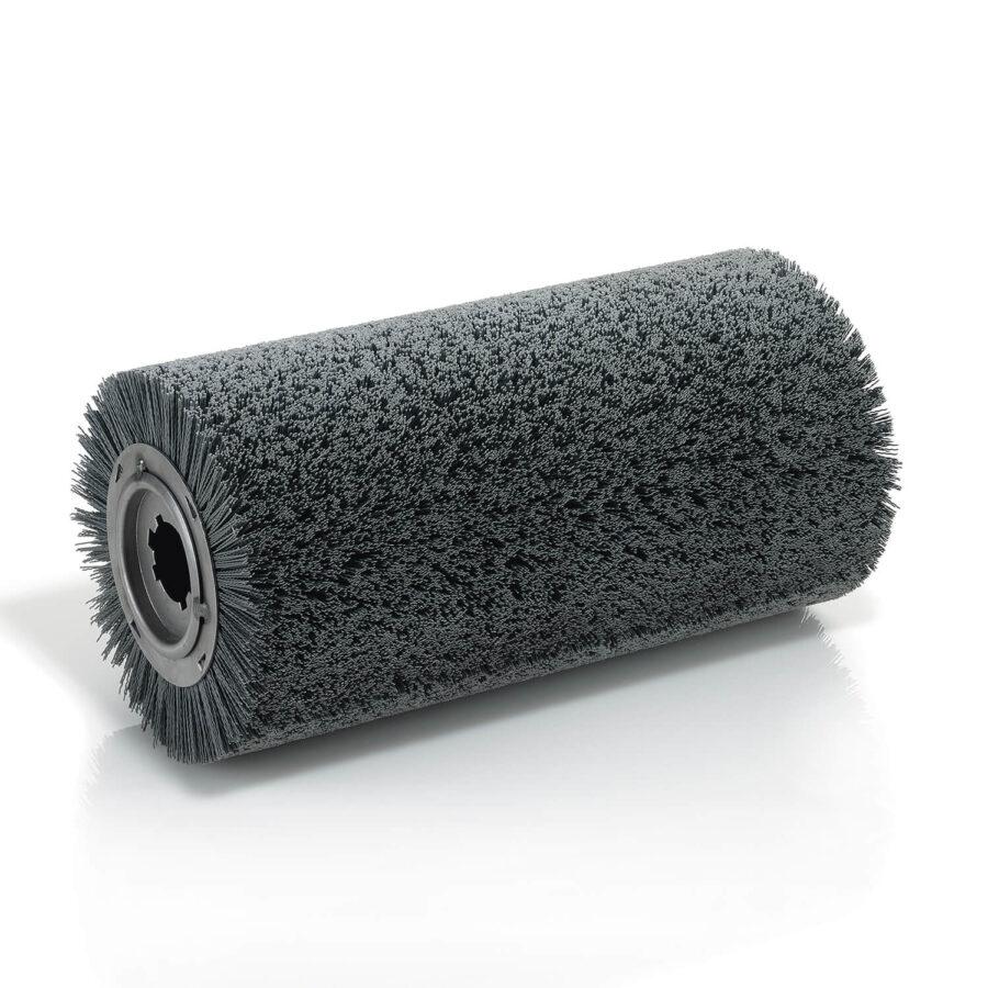 Spiral roller brushes