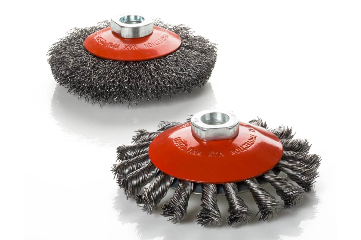 Brosses coniques brosses pour outils - KOTI