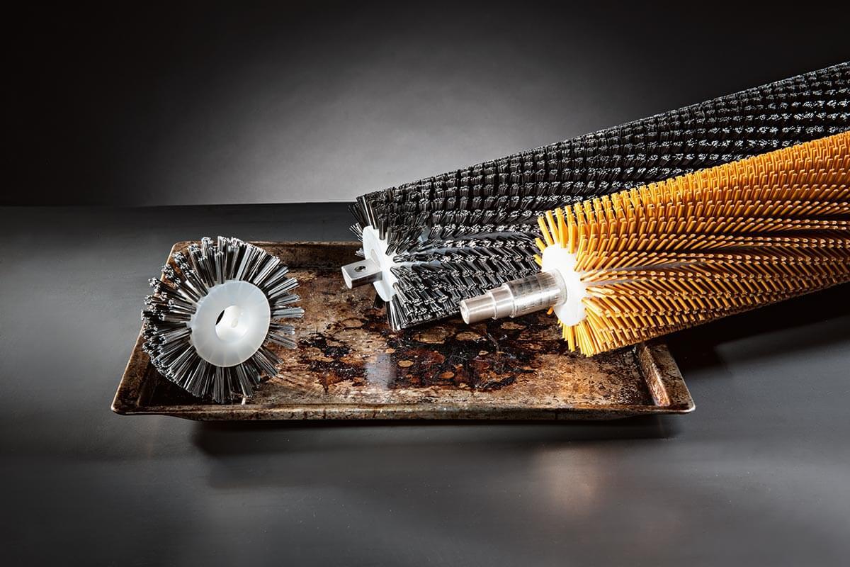Brosses rouleaux estampées brosses industrielles et techniques - KOTI