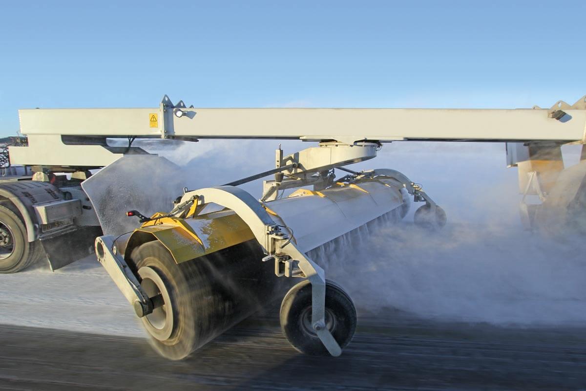 Borstelkern aluminium vliegveld - KOTI