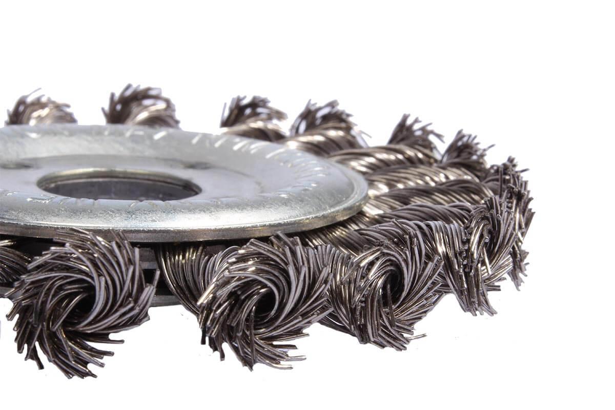 Borstelschijf van staal werktuig - KOTI