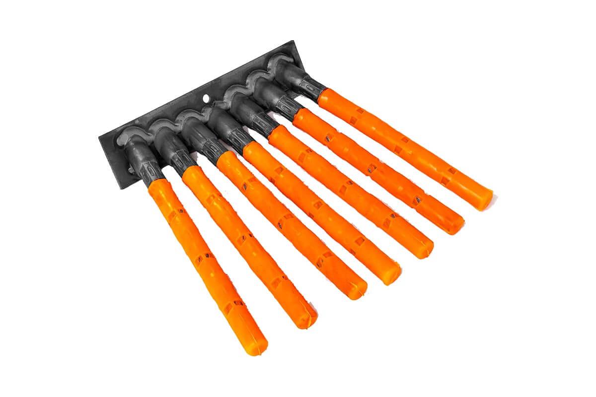 Onkruid borstelsegmenten met staalkabelplukken - KOTI