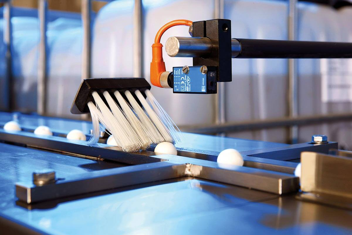 Borstellat toepassing industrieel en technisch - KOTI