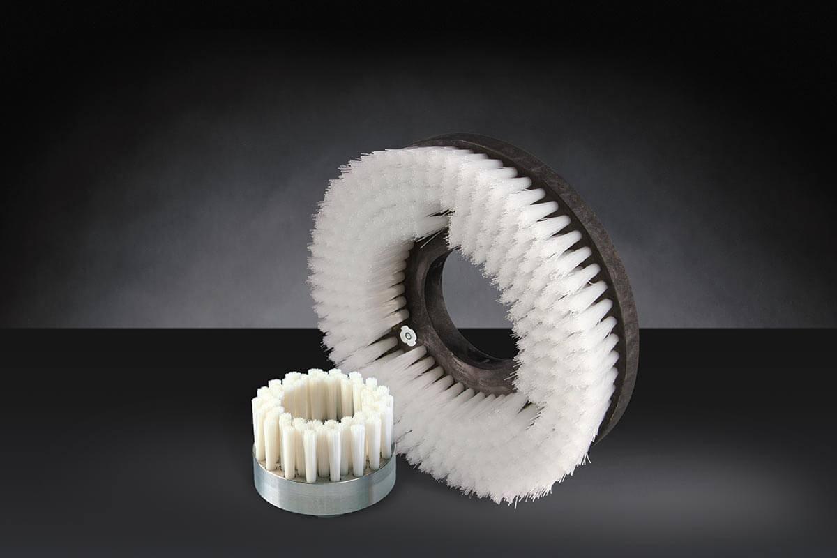 Borstelschijf gestanst industrieel en technisch - KOTI